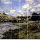 Monet Landscapes Shower Bathroom Tile Murals Design Floor Decor