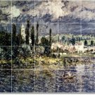 Monet Landscapes Shower Bathroom Murals Tile Design Decor Floor