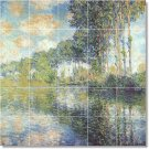 Monet Country Mural Tile Shower Bathroom Renovations Home Idea