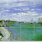 Monet Waterfront Tiles Room Mural Dining Home Renovation Design