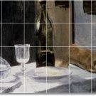 Monet Still Life Tiles Mural Room Dining Renovation Home Design