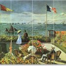 Monet Waterfront Bedroom Wall Mural Design Idea Remodeling Home