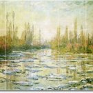 Monet Country Wall Bathroom Murals Design Home Idea Remodeling