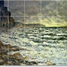 Monet Waterfront Wall Room Tile Dining Construction House Ideas