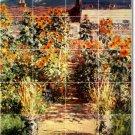 Monet Garden Mural Backsplash Tile Interior Renovations Modern
