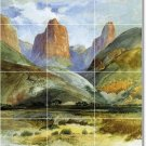 Moran Landscapes Murals Tile Wall Room Modern Decorate Interior