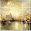 Moran Waterfront Backsplash Tile Mural Decorating Idea Interior