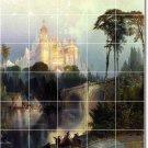 Moran Landscapes Mural Backsplash Tile Idea Interior Decorating