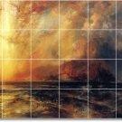 Moran Landscapes Mural Tile Backsplash Idea Decorating Interior