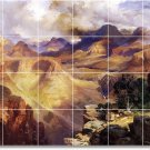 Moran Landscapes Room Mural Tiles Floor Contemporary Remodeling