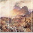 Moran Landscapes Wall Kitchen Mural Tiles Backsplash Home Decor