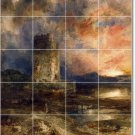 Moran Landscapes Wall Shower Mural Tiles Interior Decor Remodel