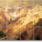 Moran Landscapes Tile Room Wall Mural Dining Commercial Remodel