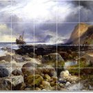 Moran Waterfront Tile Room Mural Dining Wall Remodel Commercial