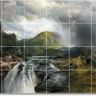Moran Landscapes Wall Shower Murals Tile Bathroom Remodel House