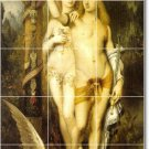 Moreau Nudes Dining Room Mural Tiles Remodel Ideas Residential