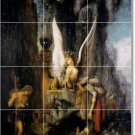 Moreau Mythology Mural Tiles Room Dining Renovation Home Modern