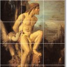 Moreau Mythology Tiles Dining Mural Room Remodeling Residential