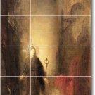 Moreau Mythology Bathroom Tiles Mural Remodel Residential Ideas