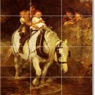 Morgan Horses Backsplash Murals Tile Renovations Home Decorate