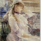 Morisot Women Mural Kitchen Tile Decor Renovations House Ideas