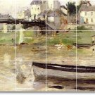 Morisot Waterfront Bathroom Wall Shower Mural Decor Home Decor