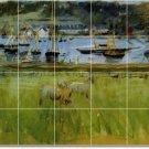 Morisot Waterfront Bathroom Wall Mural Shower Decor Decor Home