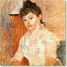 Morisot Women Tile Kitchen Mural Decor Ideas House Renovations