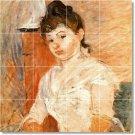 Morisot Women Tile Mural Kitchen Decor Ideas Renovations House
