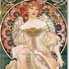 Mucha Poster Art Tiles Living Room Design Home Idea Renovations