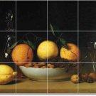 Peale Fruit Vegetables Tile Dining Mural Room Renovate Design
