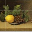 Peale Fruit Vegetables Tile Wall Murals Bedroom Ideas Remodel