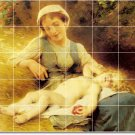 Perrault Mother Child Room Mural Tiles Ideas Commercial Remodel