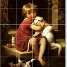 Perrault Children Room Tiles Mural Floor Home Remodeling Design