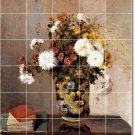 Pissarro Flowers Dining Wall Murals Room Design Home Remodeling