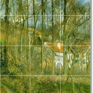 Pissarro Country Kitchen Mural Wall Wall Backsplash Modern Home