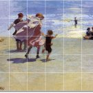 Potthast Waterfront Room Tiles Dining Mural Remodel Decor Floor