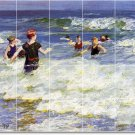 Potthast Waterfront Bathroom Mural Tile Home Construction Ideas