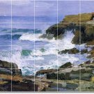 Potthast Waterfront Mural Bathroom Tile Construction Ideas Home