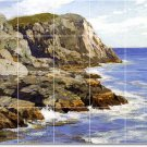 Potthast Waterfront Mural Tile Bathroom Ideas Home Construction
