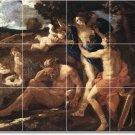 Poussin Mythology Room Mural Tiles Wall Renovations Modern Home