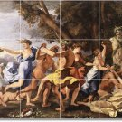 Poussin Mythology Tiles Wall Mural Room Home Renovations Design