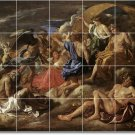 Poussin Mythology Wall Bedroom Tile Murals Decor Decor Interior
