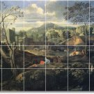 Poussin Landscapes Dining Mural Tiles Room Remodel Decor House