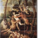 Poussin Mythology Wall Murals Floor Kitchen House Decor Remodel