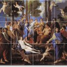Poussin Mythology Murals Kitchen Floor Wall Remodel House Decor