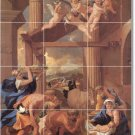 Poussin Religious Dining Murals Wall Floor Room Design Interior