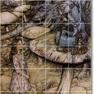 Rackham Illustration Murals Wall Kitchen Wall Floor Modern Decor