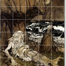 Rackham Illustration Kitchen Tiles Mural Floor Home Modern Decor