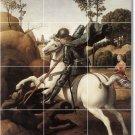 Raphael Mythology Dining Tile Room Wall Mural Remodeling Design